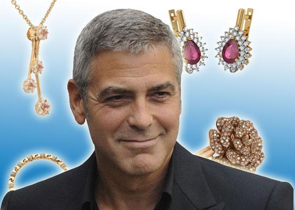 George Clooney une soirre a 6 million de dollars de bijoux