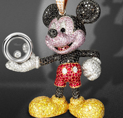 Chopard joaillerie s'associe à Walt Disney