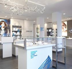 Nouvelle boutique de bijoux Swarovski joaillerie à Paris